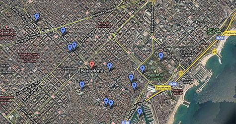 Karta Over Sevardheter I Barcelona.Hitta Sevardheter Och Nojen Med Karta Barcelona Se
